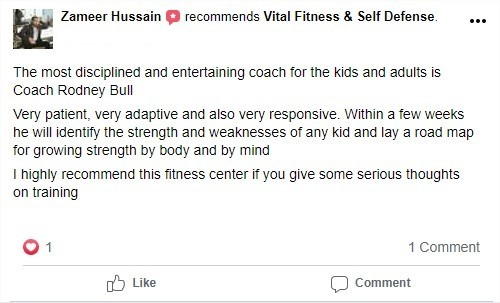 1 1, Vital Fitness & Self Defense Las Colinas, TX
