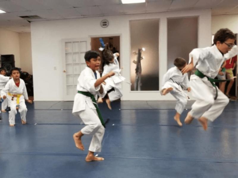kids martial arts in las colinas irvine